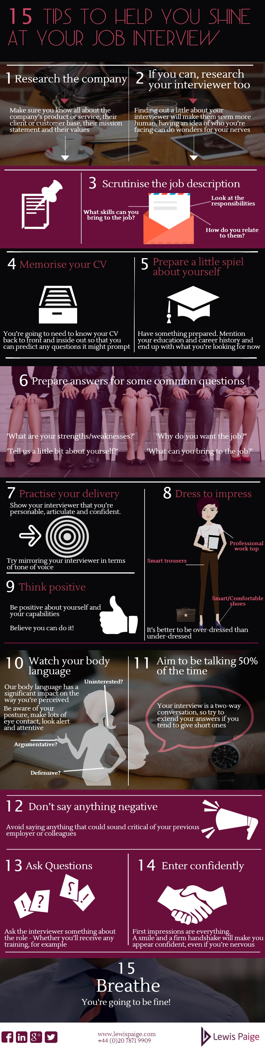 tips to help you shine at your job interview infographic interview tips infographic